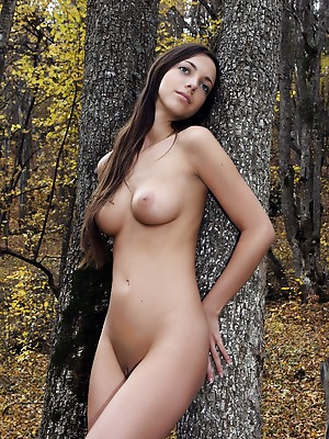 FemJoy  Malvina  Beautiful, Older, Model, Legs, Outdoor, backyard, Natural